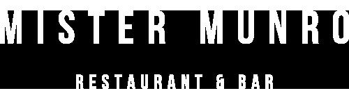 MISTER MUNRO Restaurant and Bar